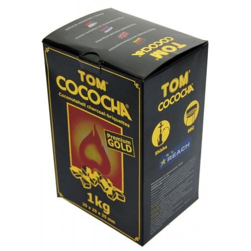 Uhlíky do vodnej fajky Tom Cococha 1 kg GOLD pre vodné fajky