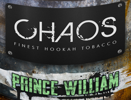 Tabak do vodnej fajky Chaos Prince William 50g