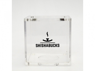 Váza Shishabucks Cloud One / Cloud Micro 15 cm číra